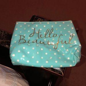 Hello Beautiful Makeup bag